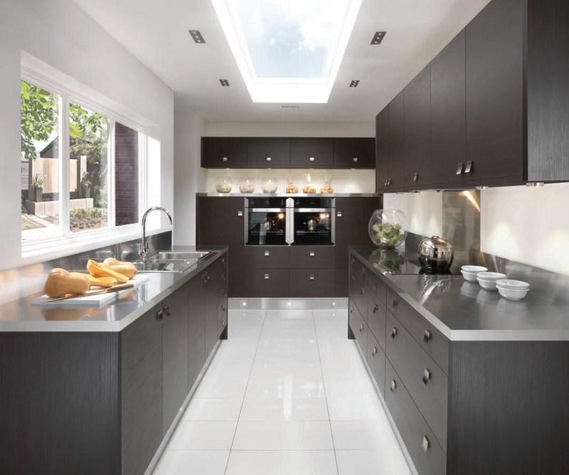 Modern wood grain kitchens kitchens by design for Kitchen design yorkshire